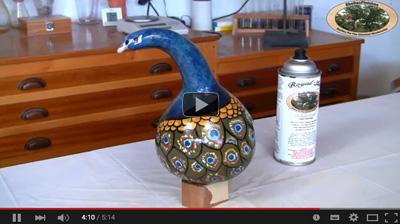 Gourd-Art-Finishing-with-Royal-Lac-Aerosol_Youtube_Th